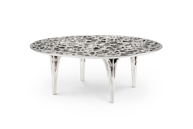 , 'Sedona Lounge Table (Polished Stainless Steel),' 2014, Gallery ALL