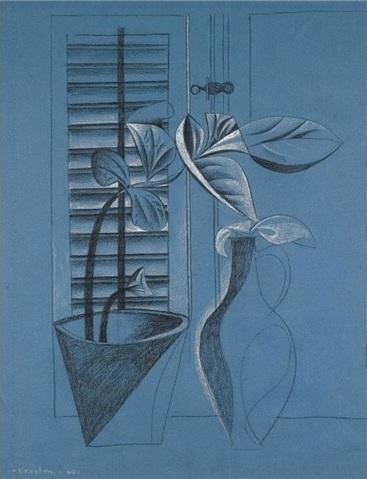 , 'Blue Still Life,' 1948, Osborne Samuel