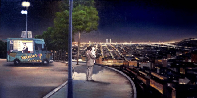 Juan Luis Jardi, 'Barcelona The Night', 2019, Wally Workman Gallery