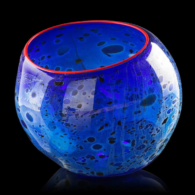 Dale Chihuly, 'Cobalt Blue Basket with Candmium Red Lip', 1994, Modern Artifact