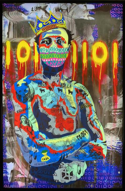 Norman O'Flynn, 'Timekeeper 35 - King', 2017, Art Supermarket
