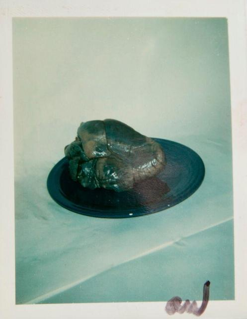 Andy Warhol, 'Andy Warhol, Polaroid Photograph of a Heart on a Plate, 1981', 1981, Hedges Projects
