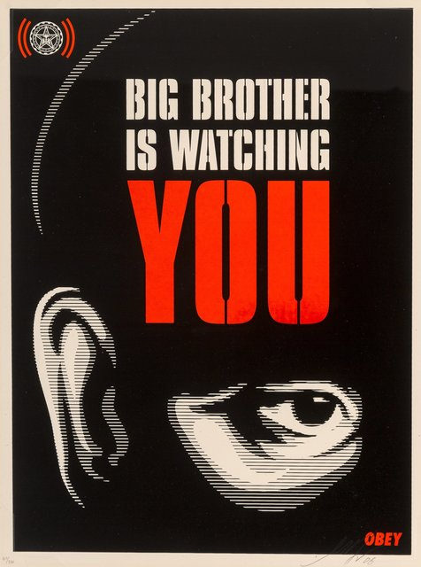 Shepard Fairey, 'Big Brother is Watching You', 2006, Heritage Auctions