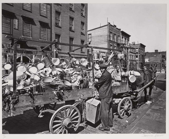 Berenice Abbott, 'Traveling Tin Shop, Brooklyn', 1936, Doyle