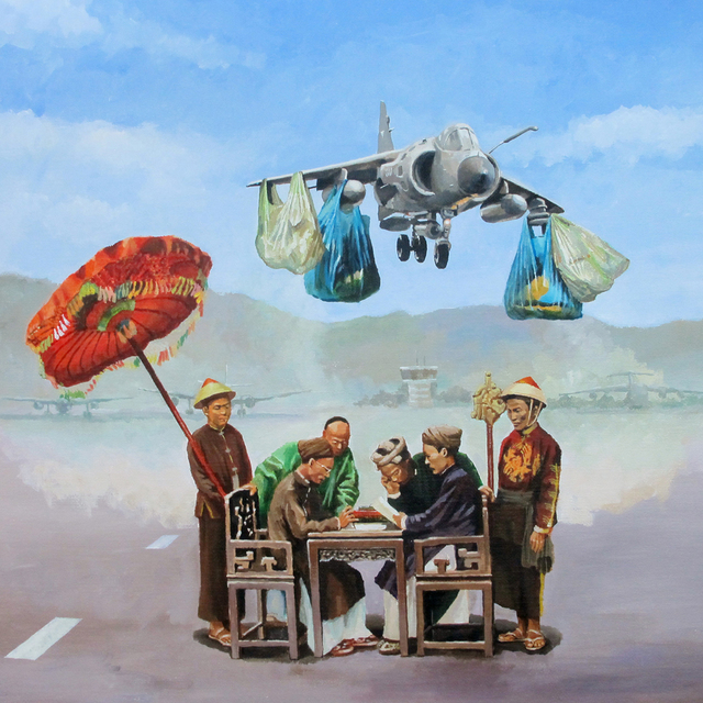 , 'The Meeting,' 2015, Art Vietnam Gallery
