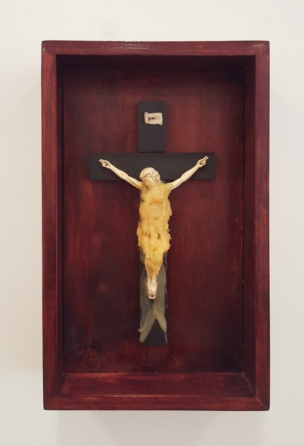 , 'Study for Crying Christ,' 1990, Brooke Alexander, Inc.