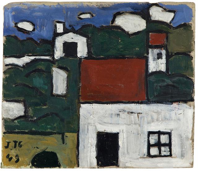 , 'Paisaje con casas ,' 1949, Gary Nader