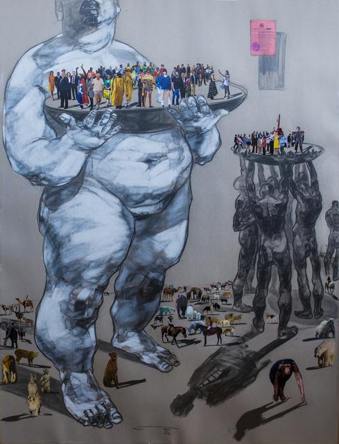 Dawit Abebe, 'Mutual Identity 24', 2019, Kristin Hjellegjerde Gallery