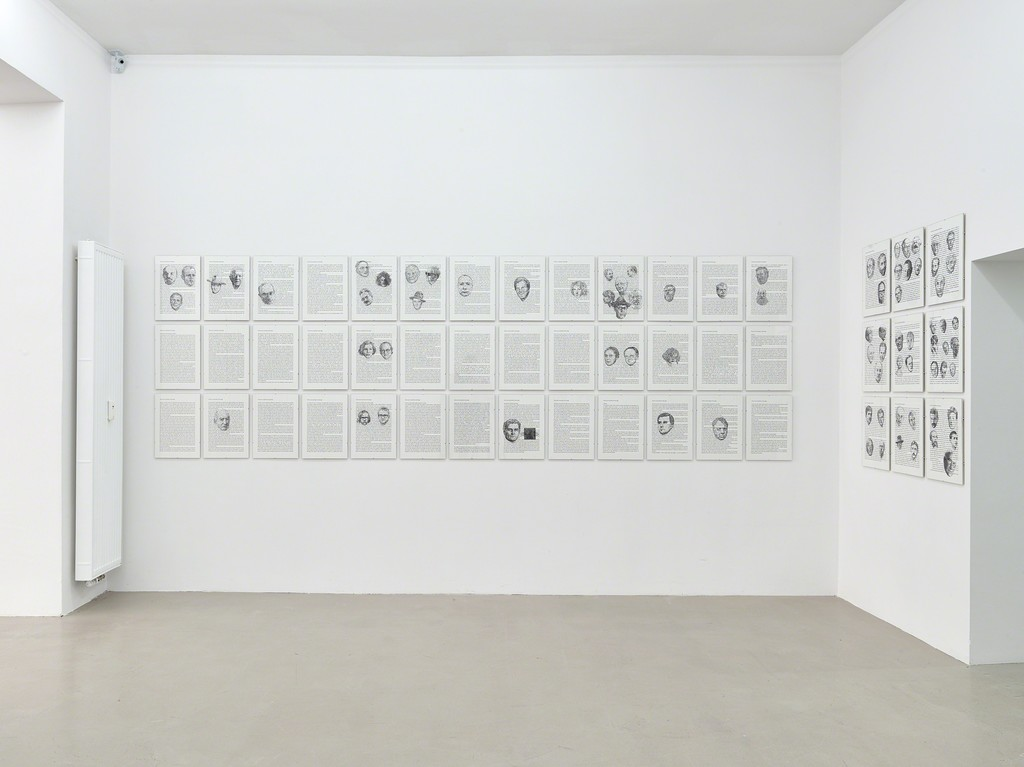 installation view Kadel Willborn, Düsseldorf, Germany, 2017.