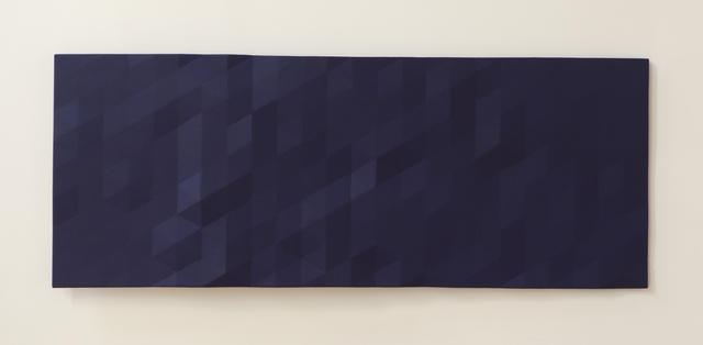 , 'Merced / 1 (dark blue),' 2014, Nancy Hoffman Gallery