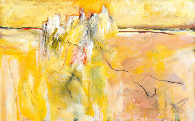 Fred Schimmel, 'Abstract in Yellow', Strauss & Co