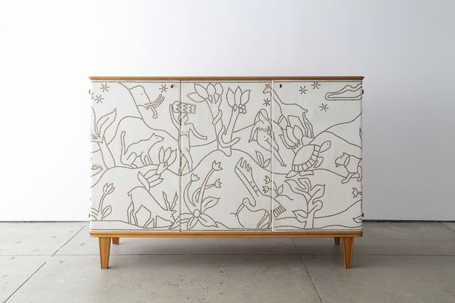 ", '""Paradise"" Cabinet,' ca. 1940, Hostler Burrows"
