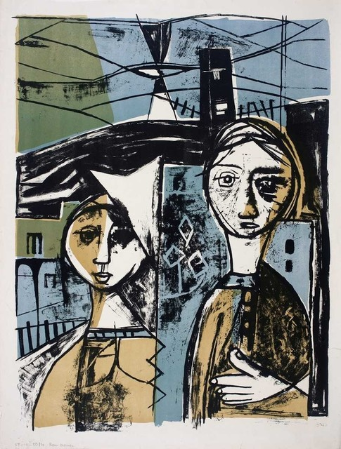 , 'UNTITLED (TWO SISTERS),' 1958, DAG