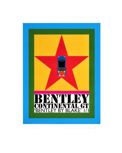 Peter Blake, 'Bentley', 2016, Tate Ward Auctions