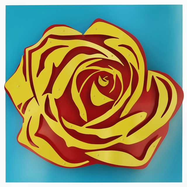 , 'Rose - Yellow on Blue,' , FP Contemporary
