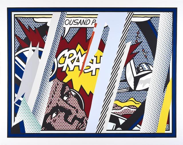 Roy Lichtenstein, 'Reflections on Crash', 1990, Wetterling Gallery