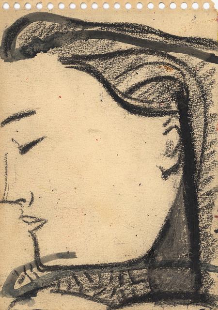 , 'Early Study of Elena 2,' , Alexandre Gallery