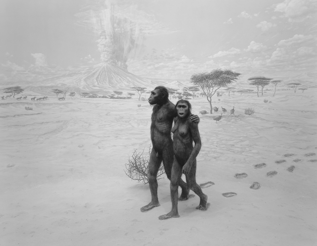 , 'Earliest Human Relatives,' 1994, Mai 36 Galerie