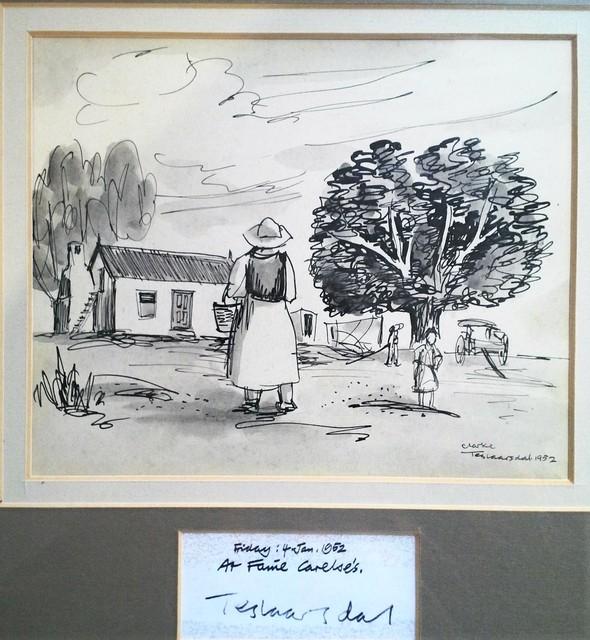 , 'Fanie Carelse's, Teslaarsdal,' 1952, Luvey 'n Rose