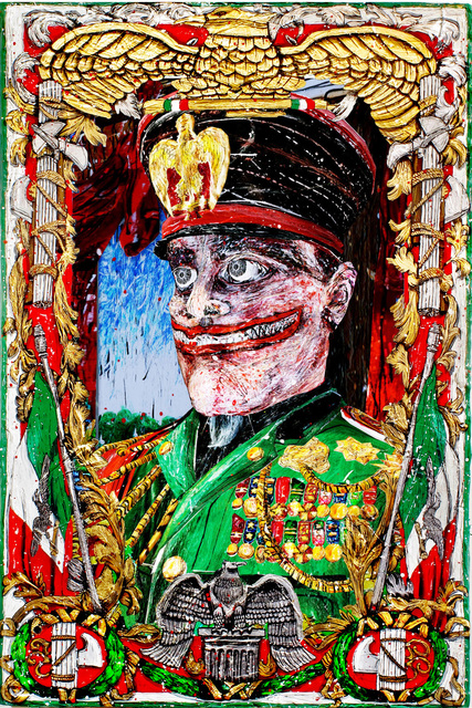 , 'The Grand Commander Benito Mussolini,' 2015, Anita Beckers