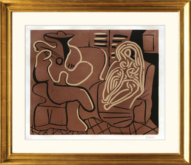 , 'Femme dans un Fauteuil et Guitariste,' 1959, Peter Harrington Gallery