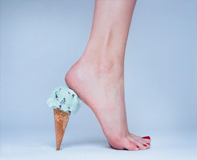 , 'Ice Cream Heel,' 2016, Imitate Modern