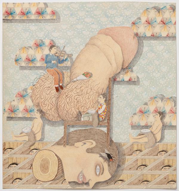 , 'Head Portrait (penis),' 2014, P.P.O.W