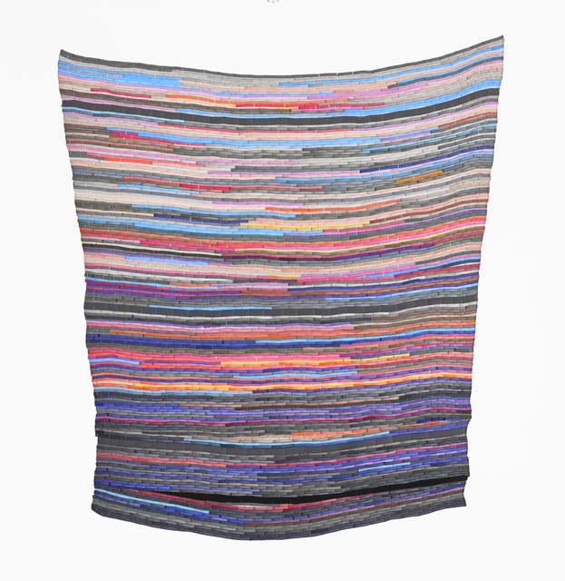 , 'Fort Foster Rag Rug,' 2018, Morgan Lehman Gallery