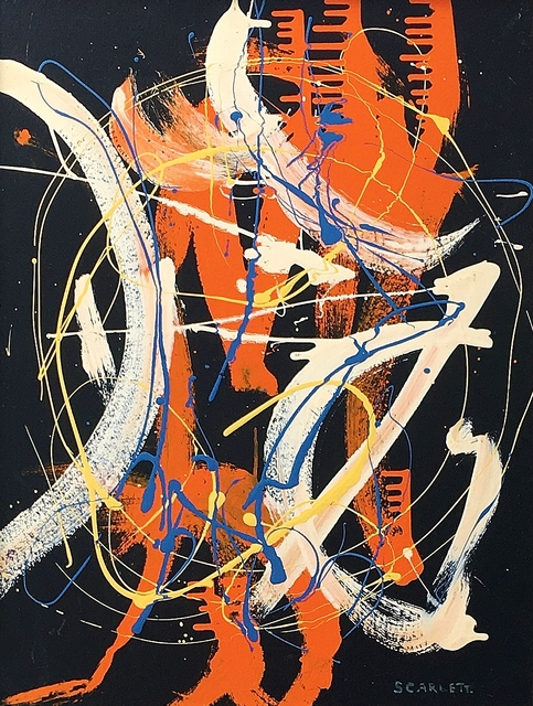 , 'Untitled Drip Abstraction,' 1945-1950, Lawrence Fine Art