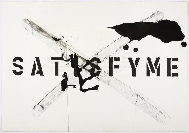 , 'Satisfy Me,' 1993/2008, KÖNIG GALERIE