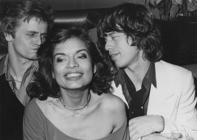 Eric Kroll, 'Bianca Jagger, Barushnikov and Mick Jagger at Bianca's NYC birthday party', 1977, Etherton Gallery