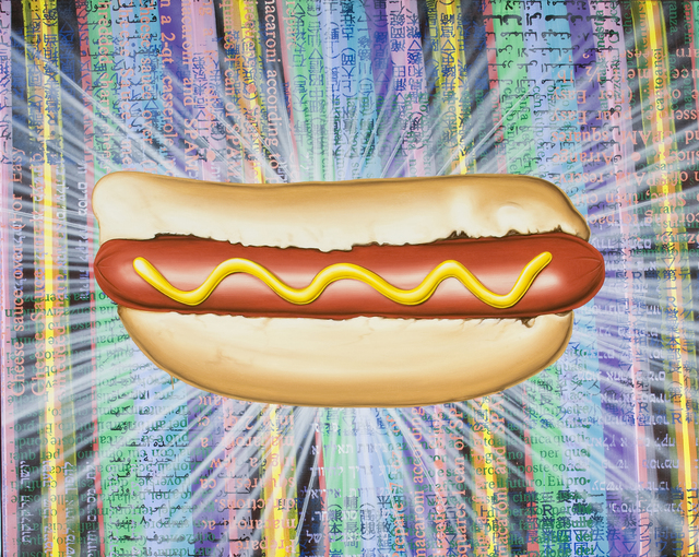 , 'The All New International Hot Dog,' 2008, David Klein Gallery