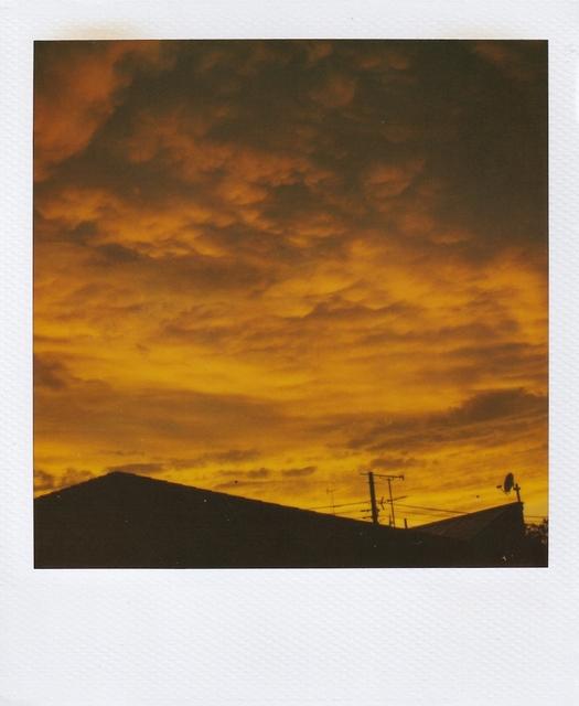 Nobuyoshi Araki, 'Skyscape polaroid', ca. 2000, Photography, Polaroid, Galleria 13