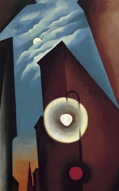 , 'New York Street with Moon,' 1925, Tate Modern