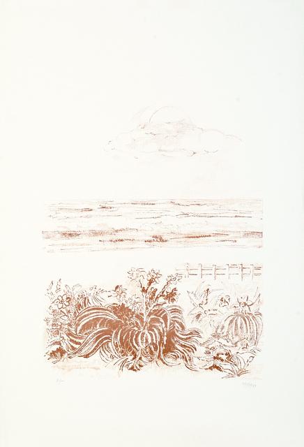 sandro sanna, 'Sea Scape', 1969, Wallector
