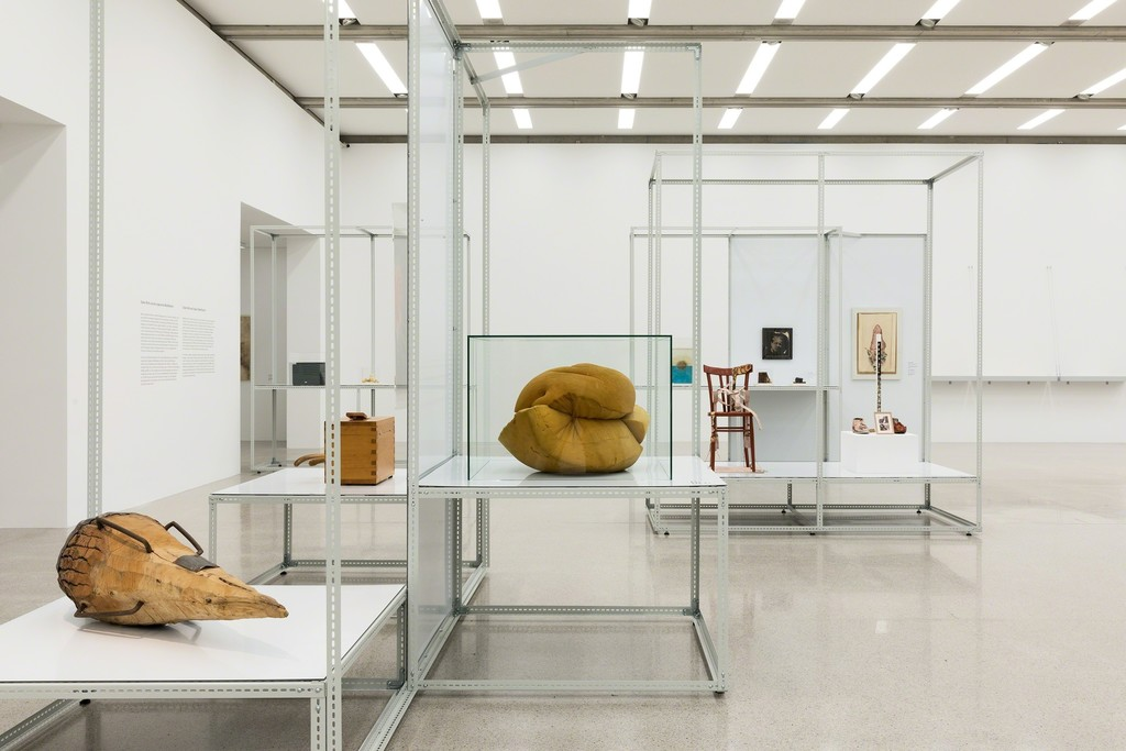 Ausstellungsansicht / Exhibition view (Ebene / level -3)