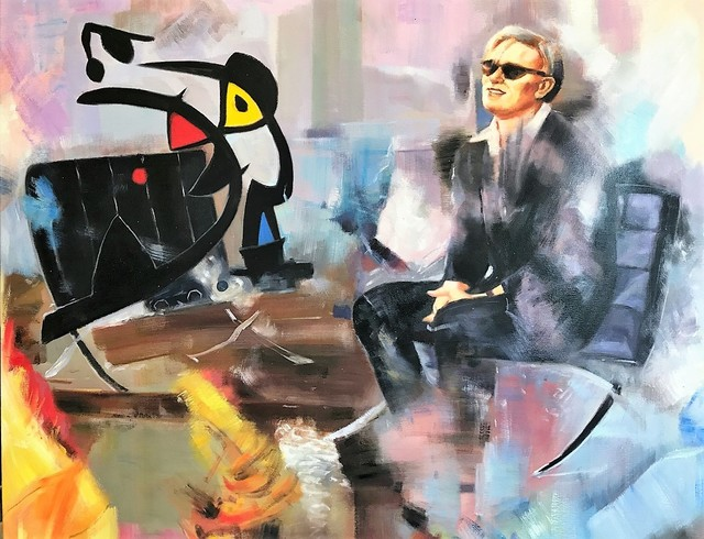 , 'Masterminds,' 2017, Galerie Montmartre