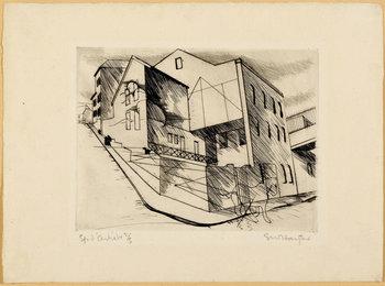 2 sheets: La villette Rue de la villette