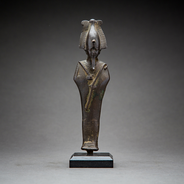 Unknown Egyptian, 'Bronze Sculpture of Osiris', 664 BC to 525 BC, Barakat Gallery