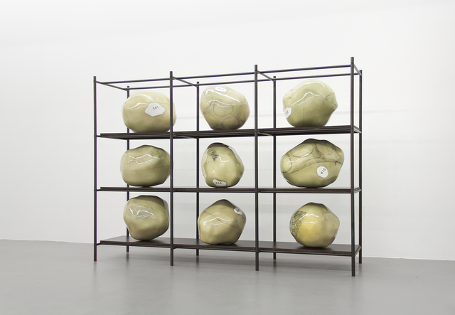 , 'Regal III,' 2015, Buchmann Galerie