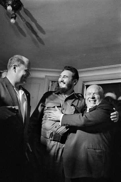 , 'Fidel Castro and Nikita Khrushchev at the Hotel Theresa in Harlem, New York. Tuesday, September 20, 1960,' 1960, Sous Les Etoiles Gallery