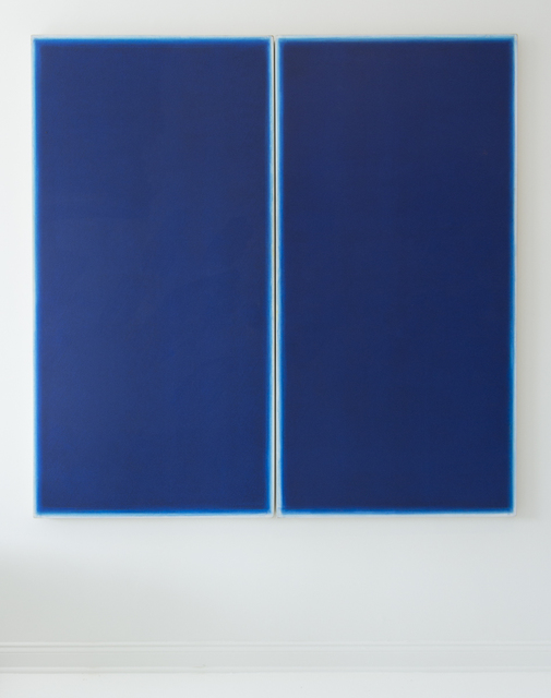 , 'Double Blue,' 1983, Eric Firestone Gallery