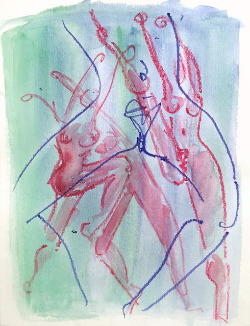 , 'The Dance No 11,' 1992, The Untitled Space