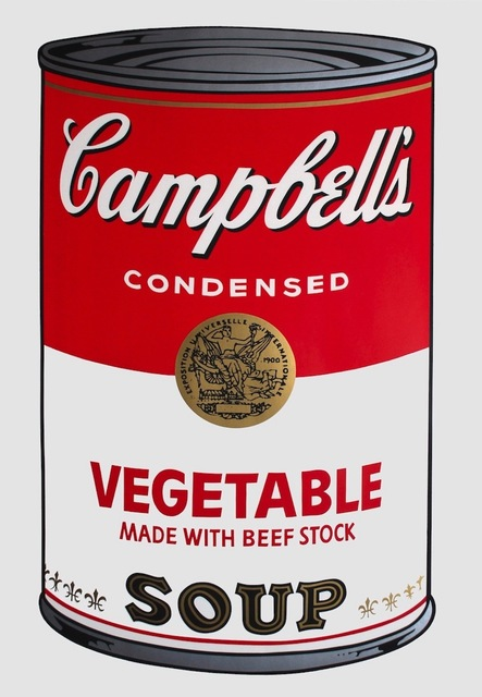 Andy Warhol, 'Campbell's Soup I: Vegetable (FS II.48) ', 1968, Print, Screenprint on Paper, Revolver Gallery
