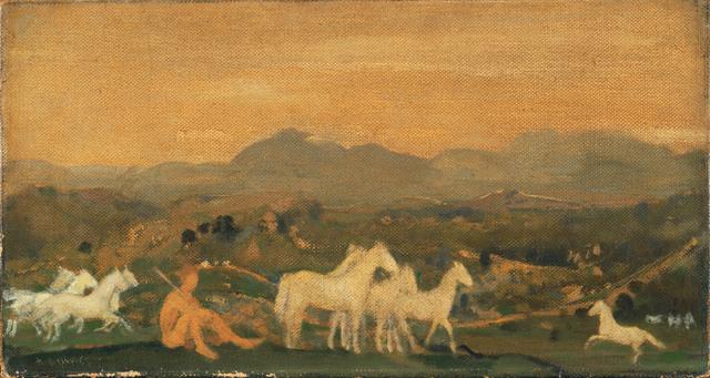 Arthur Bowen Davies, 'Horses of Attica', After 1910, Phillips Collection