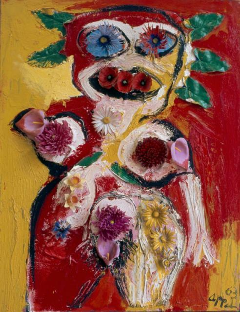, 'Woman with Flowers No.1,' 1963, Phillips Collection