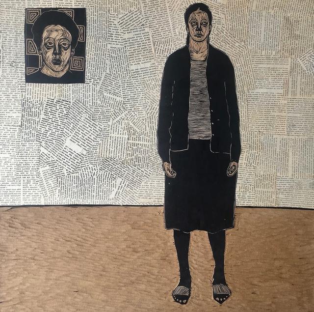 , 'Folk Memory 8,' 2015, Guzo Art Projects