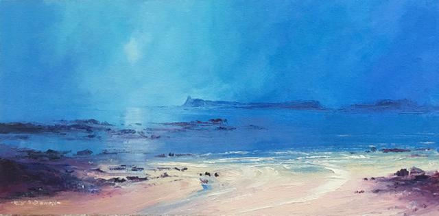 , 'Island og Eigg, from Ardnamurchan,' 2012, UK Artists