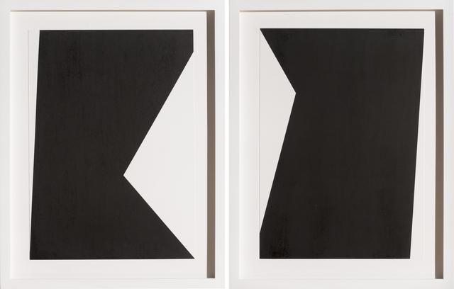 , 'Untitled 4 (diptych),' 2015, Bentley Gallery
