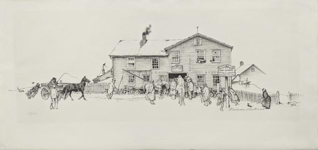 Norman Rockwell, 'BLACKSMITH SHOP', 1971, Gallery Art